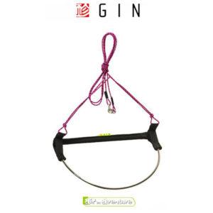 Accélérateur magenta pour parapente de la marque Gin