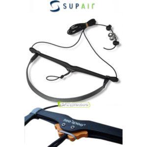 Accélérateur réglable pour parapente de la collaboration entre Free*Spee et Supair