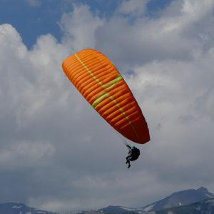 Voile de parapente Orange Amaya 3 de MCC Aviation