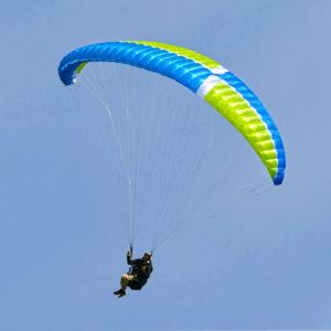 Voile de parapente bleue Arrola 3 de MCC Aviation