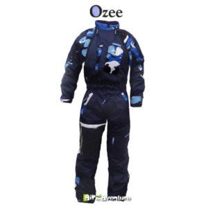 Combinaison chauffantes camouflage bleu de Ozee