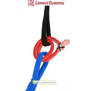 Connect en dyneema rouge de la marque GIN