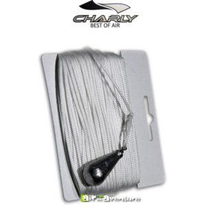 Corde blanche lestée pour parapente