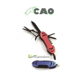Couteaux à 9 Fonctions rouge et bleu de la marque CAO