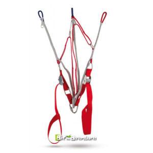 Elévateurs pour parapente lights rouge avec drisses en dyneema