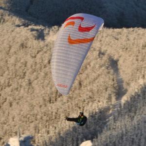 Voile de parapente grise Kea 2 de Skyparagliders