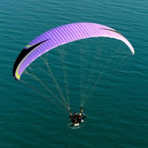Voile de Paramoteur violette Kougar 3 de Niviuk