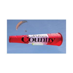 Manche à air rouge et blanche de la marque Cross-Country