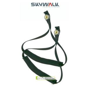 Paire de Poignées vertes à Pression pour la pratique du Hike and Fly de la marque Skywalk
