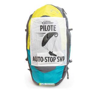 Panneau pour auto-stop en Français pour les pratiquants de parapente