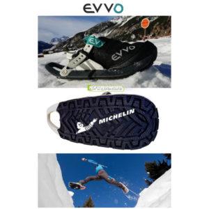 Photographies de raquettes à neige SnowShoe de la marque Evvo