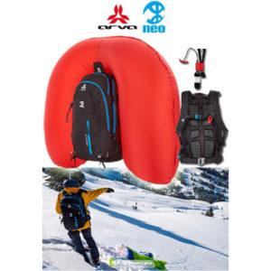 Sac à airbag pour les avalanches