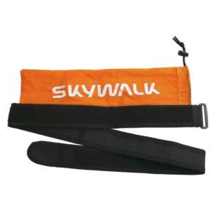 Sangle de compression pour parapente avec une poche de range pour élévateurs