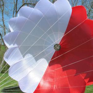 Parachute de Secours Start Biplace de Supair gonflé