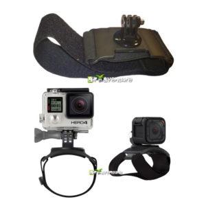 Support de cuisse avec adaptateur pour caméra GoPro
