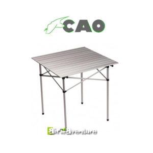 Table à lattes pliante en aluminium