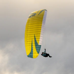 Voile de parapente jaune Tonic 2 de Skywalk