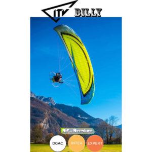 Voile de Paramoteur Verte Billy par ITV