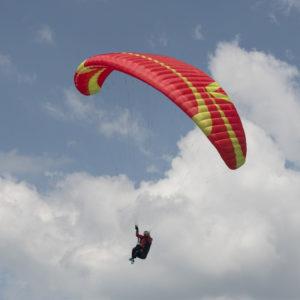 Voile de parapente rouge Mescal 6 de Skywalk