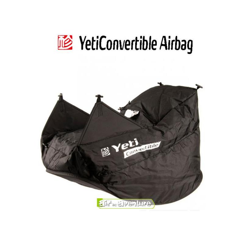 Airbag convertible de chez Gin