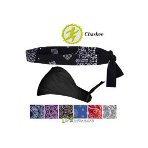 Bandeau noir de la marque Chaskee