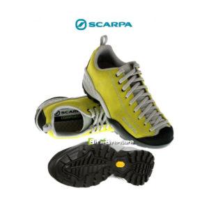 Chaussures Basses jaune