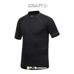 Tee-shirt Craft à Manches Courtes Noir