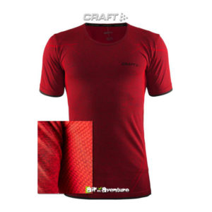 Tee-shirt Craft Manches Courtes Rouge