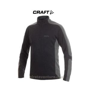 Pullover Noir de la marque Craft