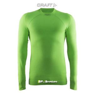 Tee-shirt Craft à Manches Longues Vert