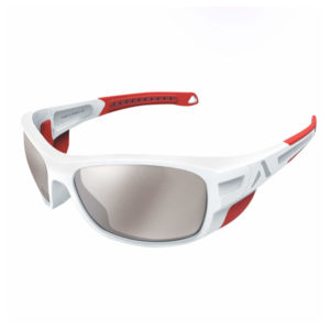 Lunettes solaire Crossover blanc et rouge Altitude-Eyewear