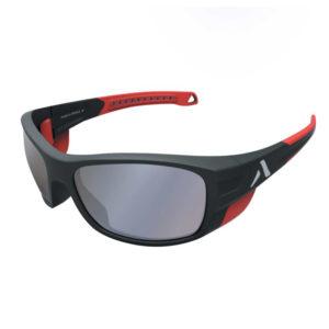 Lunettes solaire Crossover noir et rouge Altitude-Eyewear