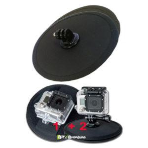 Fixation magnétique pour caméra Gopro avec articulation