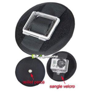 Fixation magnétique pour caméra Gopro
