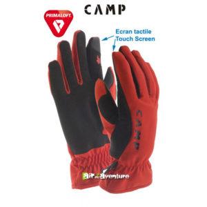 Gants rouges de la marque Camp