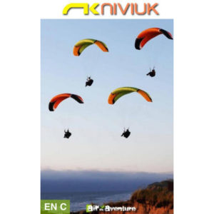 Voiles de parapente Roller Verte et Orange / Rouge et Noire par Niviuk