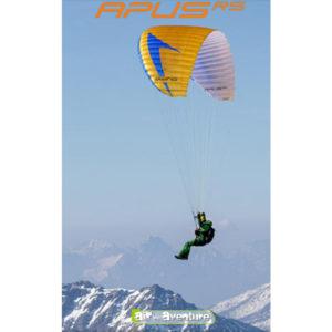 Voile de parapente Tout-terrain Orange Apus RS de Swing