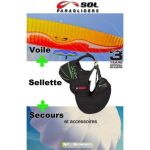 Voile Prymus 4 avec Sellette Acces et Secours RS 33