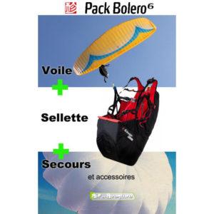 Voile Bolero 6 avec Sellette Gingo et Secours G-Lite