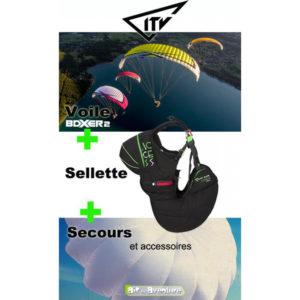 Voile Boxer 2 avec Sellette Access Airbag et Secours