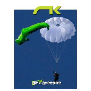 Parachute de Secours blanc de la marque Niviuk