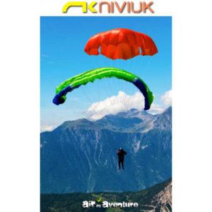Parachute de Secours rouge de la marque Niviuk
