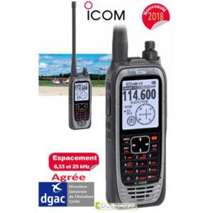 Radio Portative VHF d'Aviation