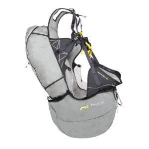 Sellette de parapente réversible Roamer 2 de Niviuk avec un airbag