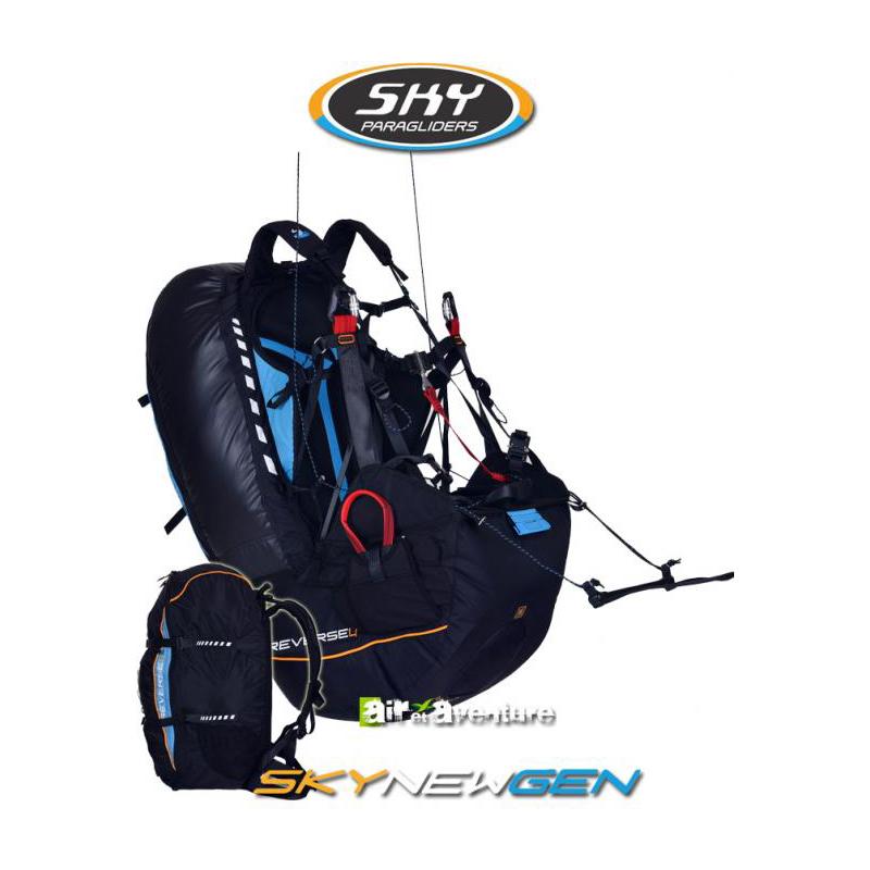 Sellette avec Sac à Airbag de Skyparagliders
