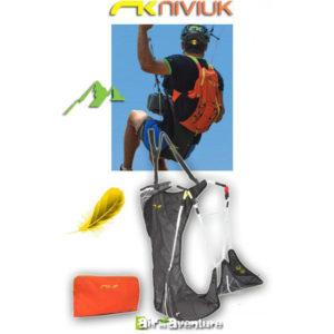 Sellette de parapente de la marque Niviuk