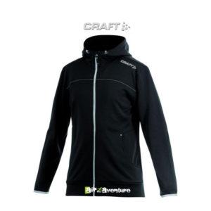 Sweat zippé à capuche Craft
