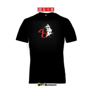 Tee-shirt noir de Gin