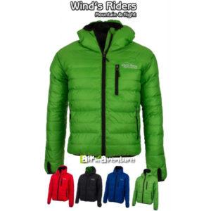 Veste Thermik Reverse verte de la marque Wind's Riders