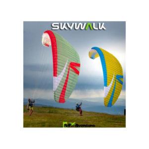 Voiles de parapente Arriba 4 Verte et Rouge / Jaune et Bleue de Skywalk